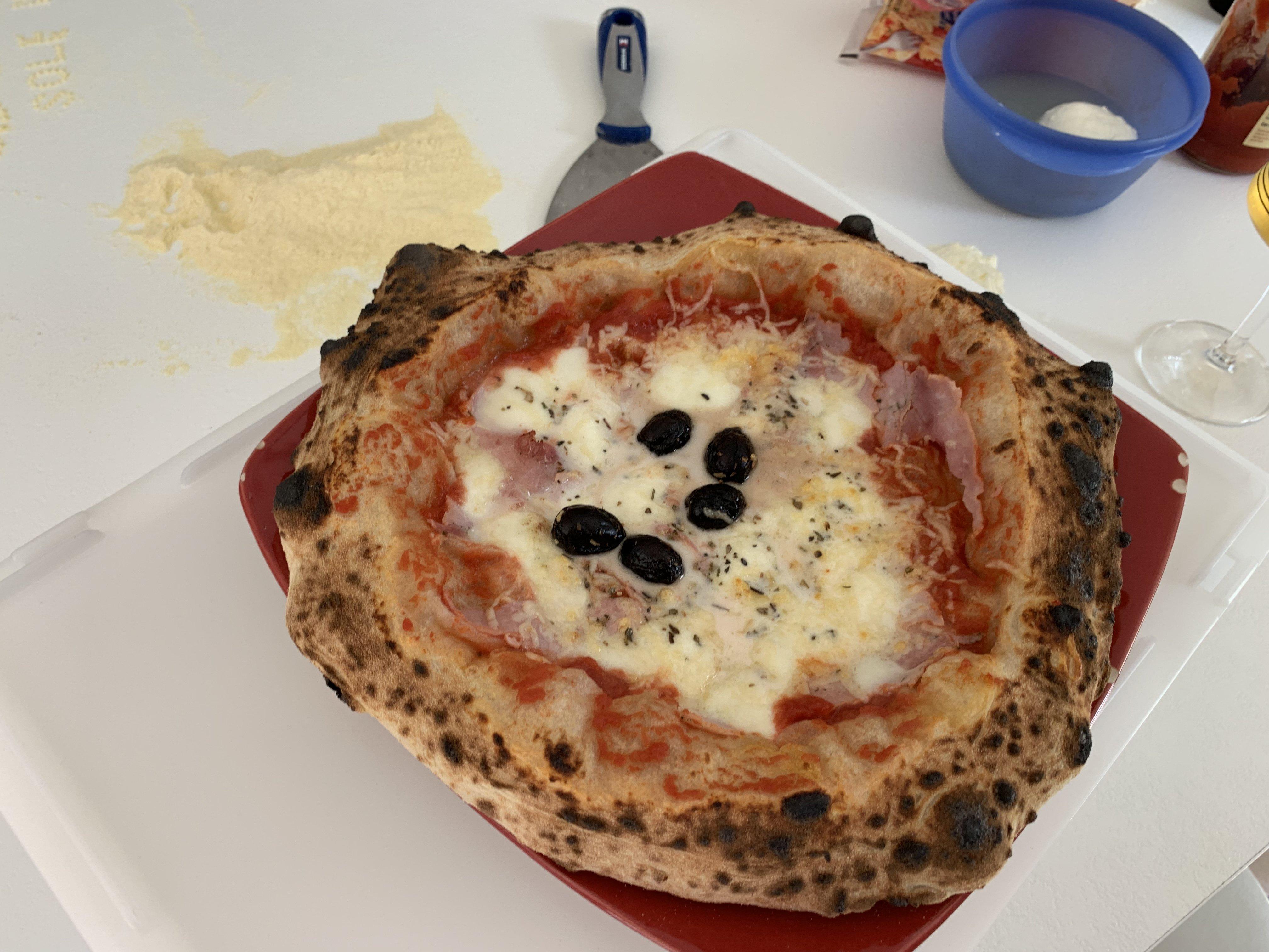 Pizza Party Ardore Page 18 Four à Gaz Pizza Napolitaine